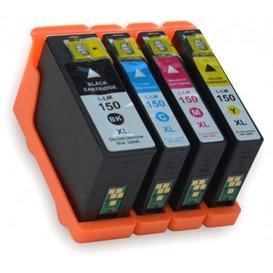 Lexmark 150 compatible inktpatronen set van 4 stuks