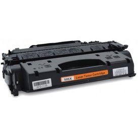 HP Toner Huismerk 05X zwart CE505X