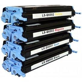 HP Toners Huismerk 124A Set 4 stuks Q6000a t/m Q6003A