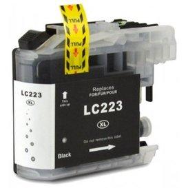 Brother LC223 compatible inktpatroon zwart 20 ml