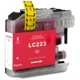 Brother LC223 compatible inktpatroon magenta 10 ml