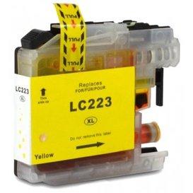 Brother LC223 compatible inktpatroon geel 10 ml