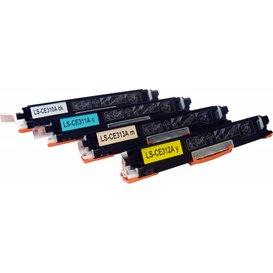 HP 126A Set 4 stuks CE310A t/m CE313A Toners Huismerk