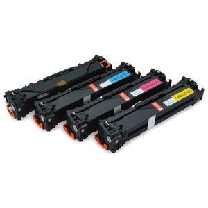 HP Toners Huismerk 131A Set 4 stuks CF210X-CF211A-CF212A-CF213A