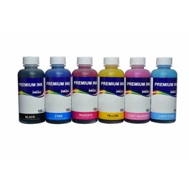 Canon CLI-551, CLI-541, CLI-546, BCI-3, BCI-6 Dye/Pigment inkt 100 ml. Set 6 kleuren