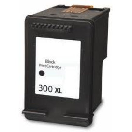 HP Compatible inktpatroon HP300XL CC641EE Zwart 23 ml