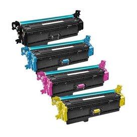 HP Toners Huismerk 508X Set 4 stuks CF360X-CF361X-CF362X-CF363X