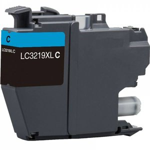 Brother LC3217-LC3219 XL compatible inktpatroon cyaan 1500 p.