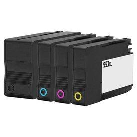 HP 953 XL  Huismerk inktpatronen Set 4 stuks