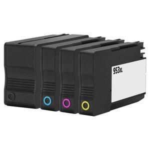 HP 953 XL remanufactured inktpatronen Set 4 stuks