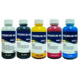 Canon CLI-8, CLI-521, CLI-526 Dye/Pigment inkt 100 ml. Set 5 kleuren
