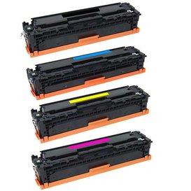 HP Toner Huismerk 410A Set 4 kleuren CF410A, CF411A, CF412A, CF413A