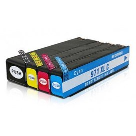 HP 970XL-971XL inktpatronen CN625AE t/m CN628E Set 4 stuks