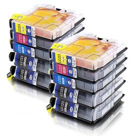 Brother LC223 compatible inktpatronen Set 10 stuks