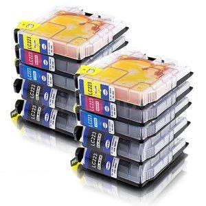 Brother LC223 compatible inktpatronen Set 10 stuks