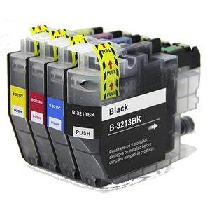 Brother LC3213 XL Set compatible inktpatronen 4 stuks
