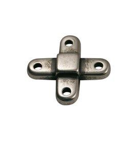 CDQ verbindings kruis zilverkleur