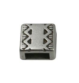 CDQ Ls leerschuiver vierkant keltische rand 6mm