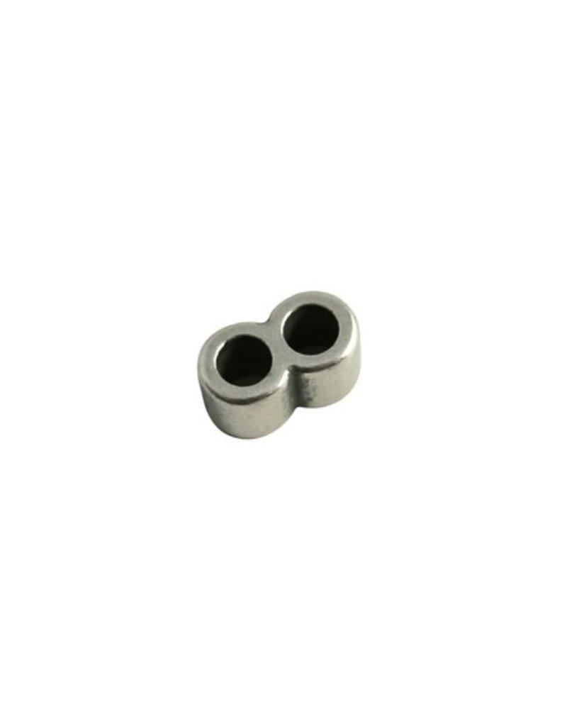 CDQ Schuiver 2gats rond 15x8mm