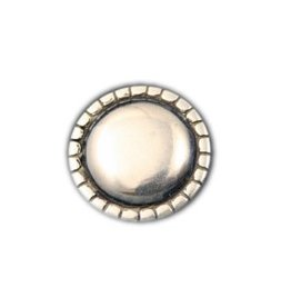 CDQ rivet round smooth 29mm silver plating