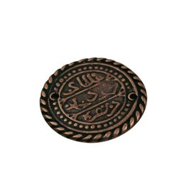 CDQ Keltische munt 27mm brons kleur.
