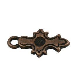 CDQ Keltisch cross copper plating.