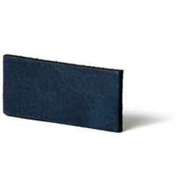 CDQ Leather DIY bracelet straps 20mm Blue  20mmx85cm