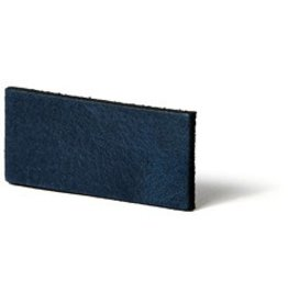 CDQ Leather DIY bracelet straps 30mm Blue  30mmx85cm