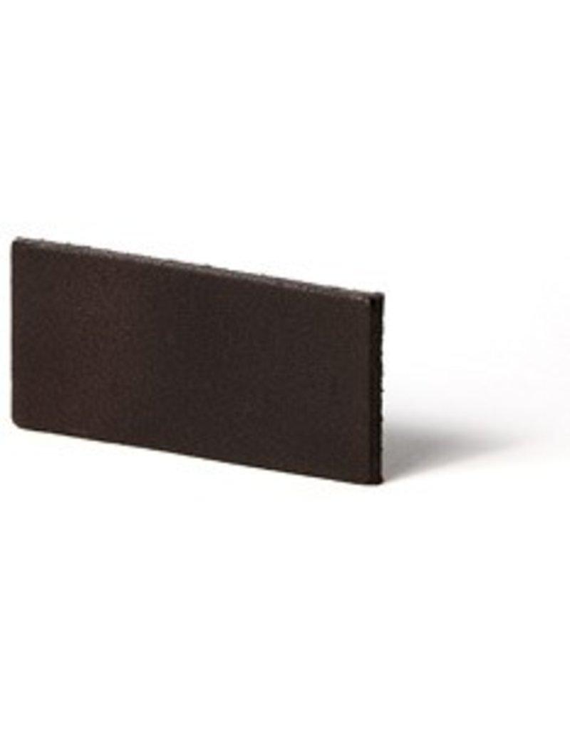 CDQ flach lederband DIY Riemen 35mm Cacao 35mmx85cm