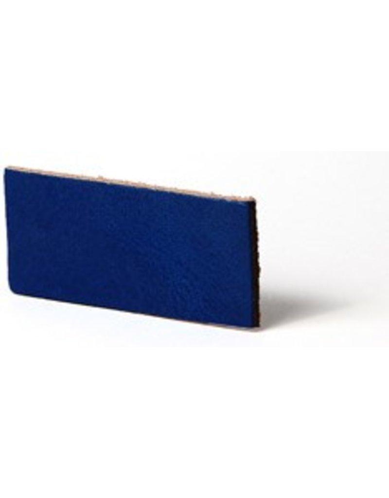 CDQ flach lederband DIY Riemen 35mm Cobalt 35mmx85cm