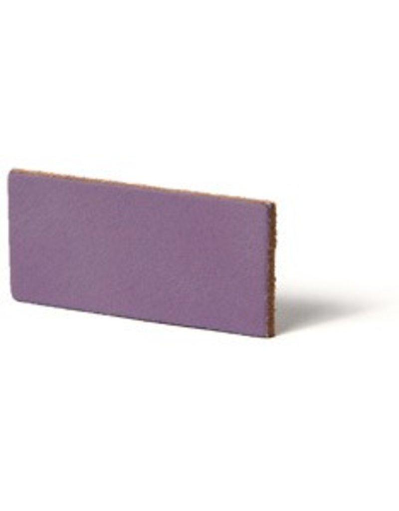 CDQ flach lederband DIY Riemen 35mm Lavender 35mmx85cm