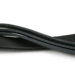 CDQ Choker/wrap bandje 13mmx40cm zwart per 5 stuks