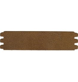 CDQ Armband Leder knistern medium.brown 44mmx18.5cm mittlerer Gr