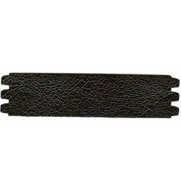 CDQ Armband Leder schwarz Knistern mittlerer Gr
