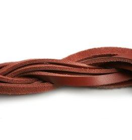CDQ Leder rot Lichtleiste 85cm