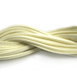 CDQ suede like cord creme 1.10 mtr