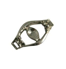 CDQ Charm 2 eyes 32x19mm