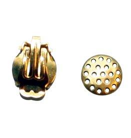 CDQ Zeef oor clip 12mm goudkleur per 20 stuks