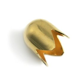 CDQ sieraden kapje goudkleurig opening 16mm
