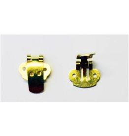 CDQ Shoe clip gold color, 30 pieces
