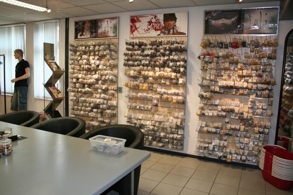 Showroom cuenta Hobby Großhandel Perlen und Komponenten