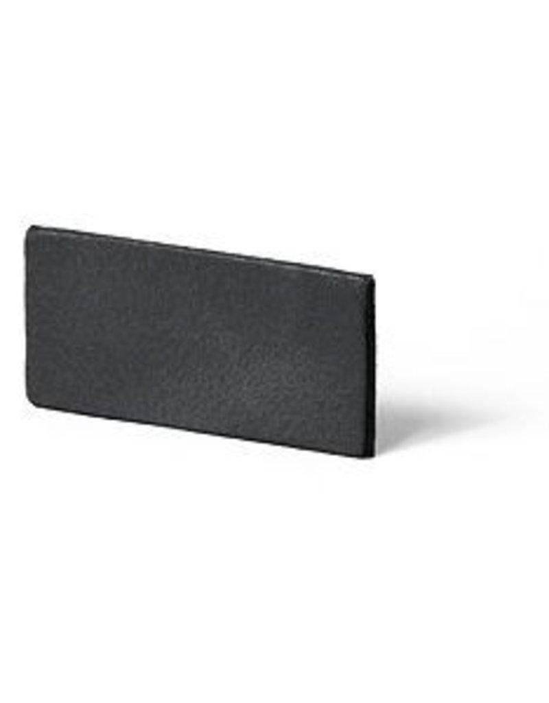 CDQ Leerstrook 25mm antraciet-schoolbord grijs 25mmx85cm verpakt per 2 stuks