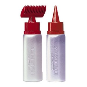 GOLDWELL-ELUMEN Comb, applicator bottle and spout