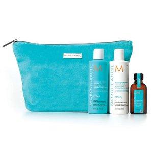 MOROCCANOIL® Moisture Repair Shampoo + Conditioner + Bag