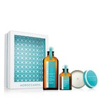 MOROCCANOIL® Home & Away Set 2-teilig LIGHT 100 ml + 25 ml + Candle