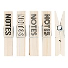 House Doctor set grote houten knijpers Notes