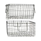 House Doctor basket Wire 2 stuks