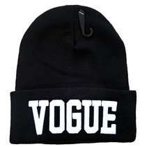VOGUE BEANIE MUTS - BLACK