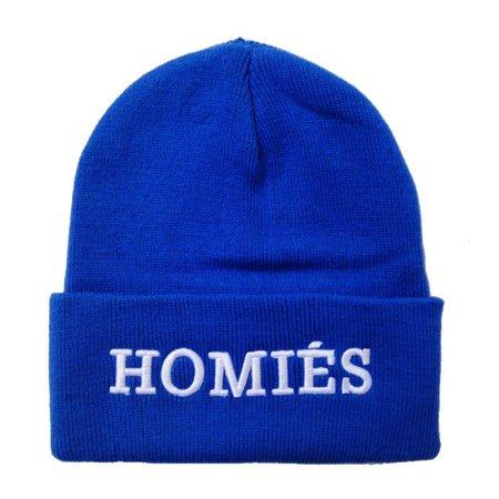 Homie Beanie Muts - Blue