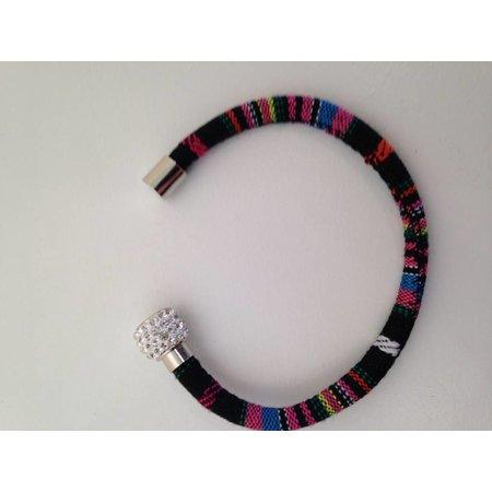 Ibiza armband stof